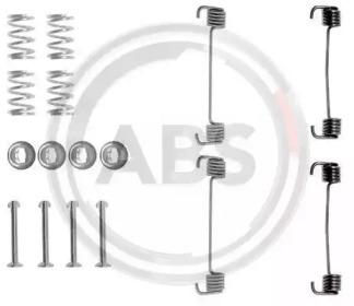 Ремкомплект барабанных колодок A.B.S. 0619Q