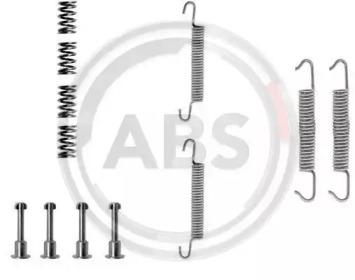 Ремкомплект барабанных колодок A.B.S. 0621Q