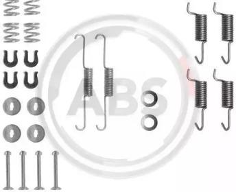 Ремкомплект барабанных колодок A.B.S. 0788Q