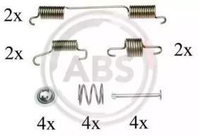 Ремкомплект барабанных колодок A.B.S. 0828Q
