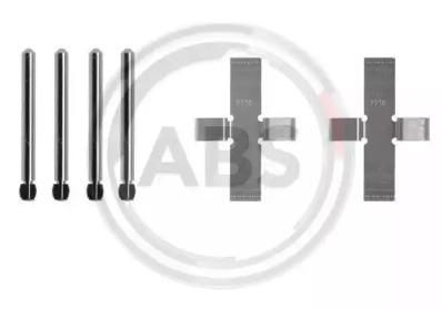 Скобы тормозных колодок A.B.S. 0902Q