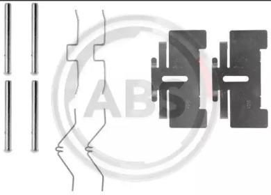 Скобы тормозных колодок A.B.S. 0974Q