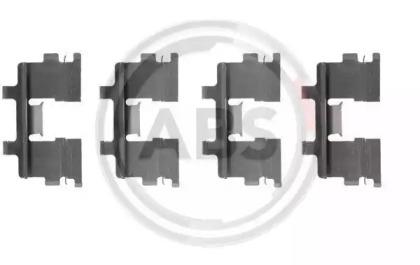Скобы тормозных колодок A.B.S. 1015Q