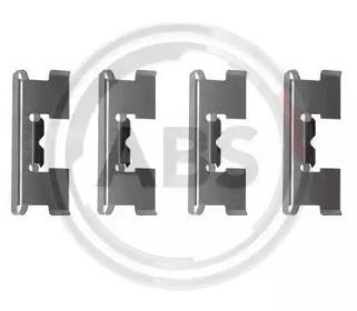 Скобы тормозных колодок A.B.S. 1017Q