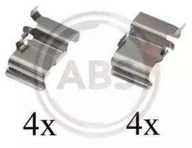Скобы тормозных колодок A.B.S. 1033Q