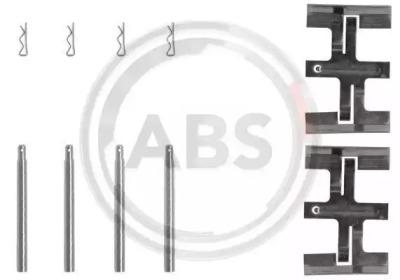 Скобы тормозных колодок A.B.S. 1045Q
