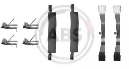 Скобы тормозных колодок A.B.S. 1079Q