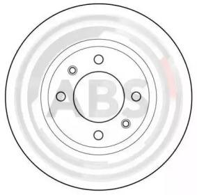 Тормозные диски A.B.S. 15414