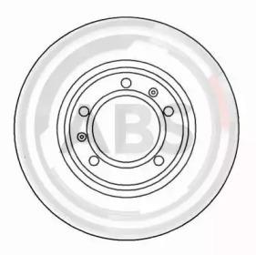 Тормозные диски A.B.S. 16331