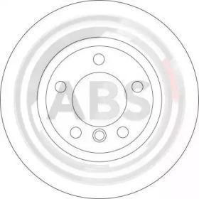 Тормозные диски A.B.S. 16536