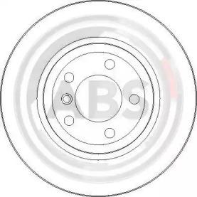 Тормозные диски A.B.S. 17025