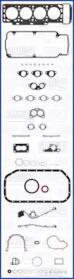 Комплект прокладок двигателя AJUSA 50043700