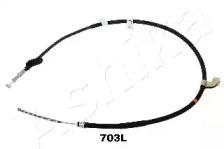 Трос ручного тормоза ASHIKA 13107703L