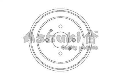 Тормозной барабан ASHUKI 10200105
