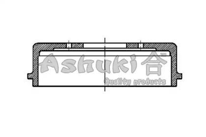 Тормозной барабан ASHUKI 10202105