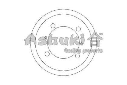 Тормозной барабан ASHUKI 10208005