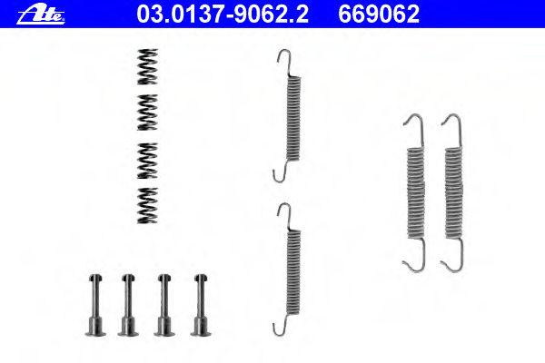 Ремкомплект барабанных колодок ATE 03013790622