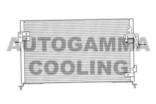 Радиатор кондиционера AUTOGAMMA 103288