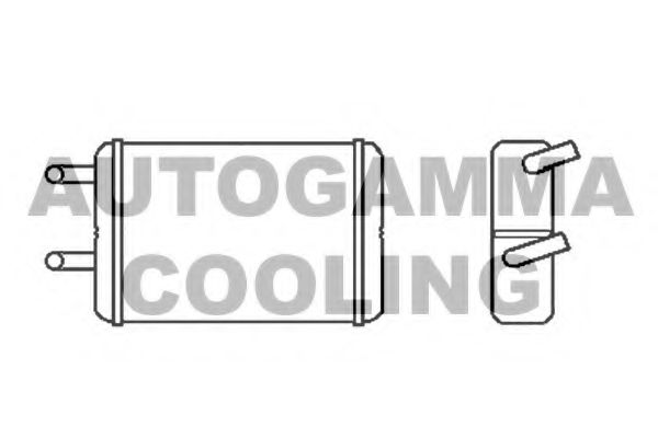 Радиатор печки AUTOGAMMA 103787