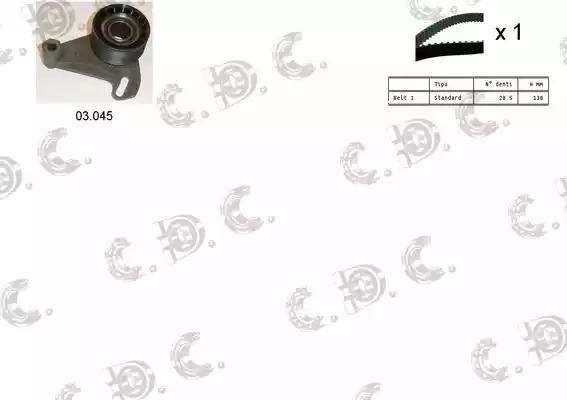 Комплект ГРМ AUTOKIT 045165