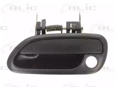 Облицовка бампера BLIC 601017009401P