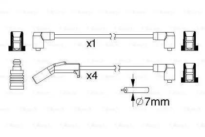 Коммутатор системы зажигания BOSCH 0986357190