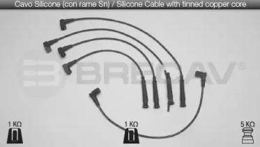 Провода высоковольтные BRECAV 04507
