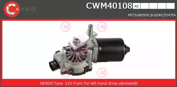 Двигатель стеклоочистителя CASCO CWM40108AS