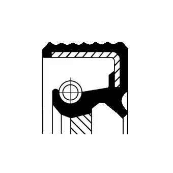 Сальник первичного вала CORTECO 01019287B