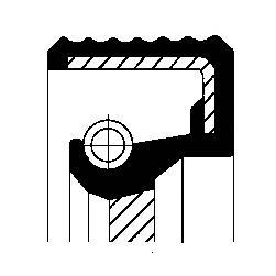 Сальник первичного вала CORTECO 01019289B