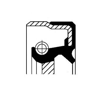 Сальник первичного вала CORTECO 01019481B