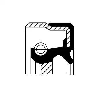 Сальник первичного вала CORTECO 01034075B