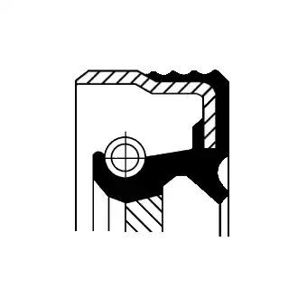 Сальник первичного вала CORTECO 01034938B