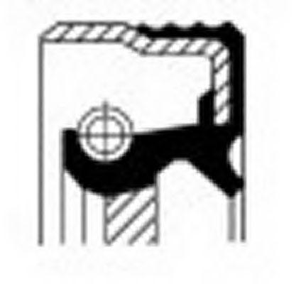 Сальник распредвала CORTECO 12013459B