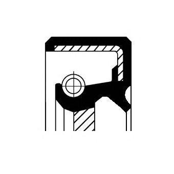 Сальник первичного вала CORTECO 19016665B