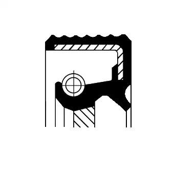 Сальник коленвала CORTECO 20015455B
