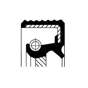 Сальник коленвала CORTECO 20029180B
