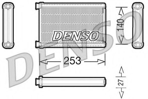 Радиатор печки DENSO DRR05005