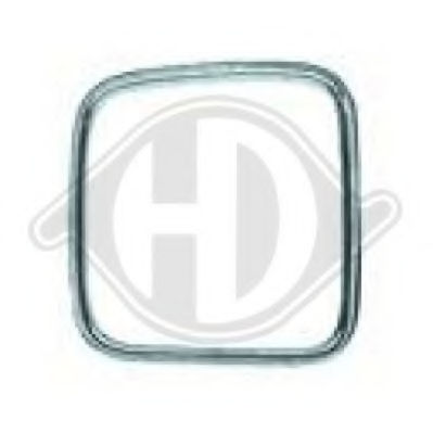 Решетка радиатора DIEDERICHS 1222042