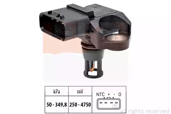 Датчик давления наддува EPS 1993317