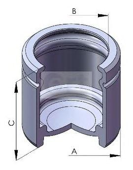 Тормозной поршень ERT 150566C