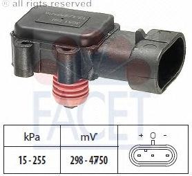 Датчик давления наддува FACET 103051