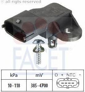 Датчик давления наддува FACET 103091