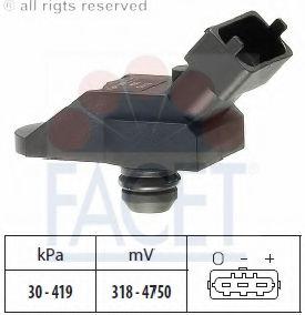 Датчик давления наддува FACET 103115