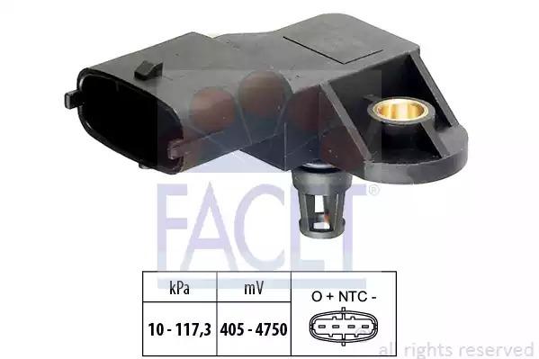 Датчик давления наддува FACET 103171