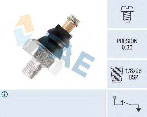 Датчик давления масла FAE 10610
