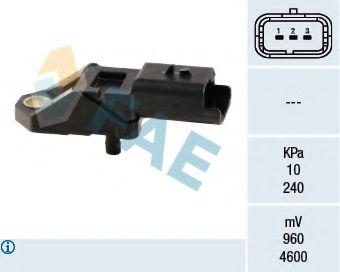 Датчик давления наддува FAE 15027