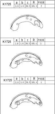 Рабочий тормозной цилиндр FENOX K1725