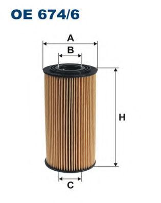Масляный фильтр FILTRON OE6746