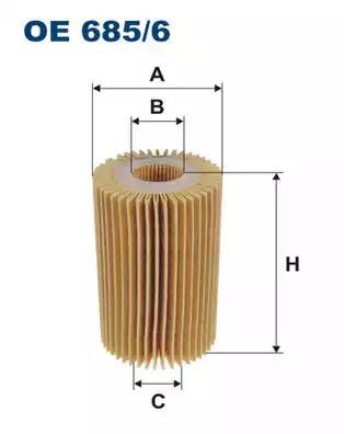 Масляный фильтр FILTRON OE6856